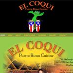 El Coqui Puerto Rican restaurant in Santa Rosa